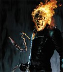 Nic Cage as Johnny Blaze/Ghost Rider from the 2007 predecessor
