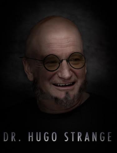 Fan made poster of Robin Williams as Dr. Hugo Strange