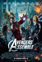 New Poster For THE AVENGERS Shows Team Assembled; U.K. Gets Title Changed To AVENGERS ASSEMBLED